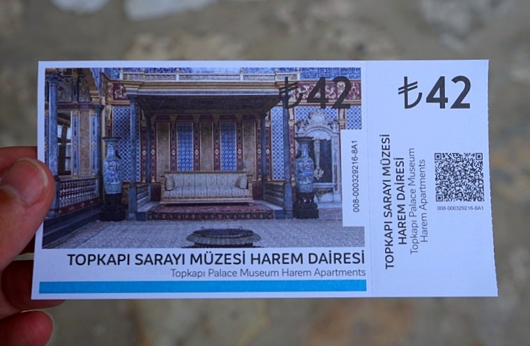 The ticket to the Harem