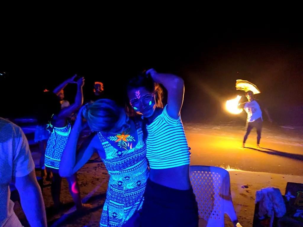 Beach Party in Koh Phi Phi
