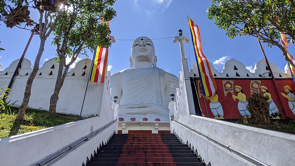 Buddha statue in Kandy