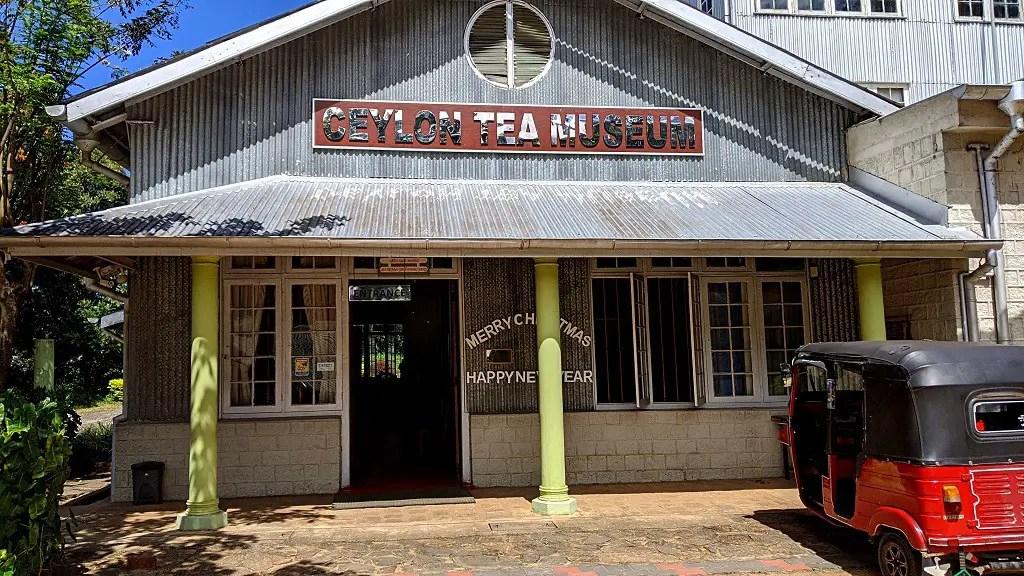 Ceylon tea museum in Kandy