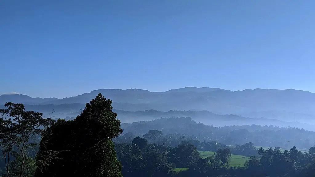 On the way from Kandy to Sigiriya