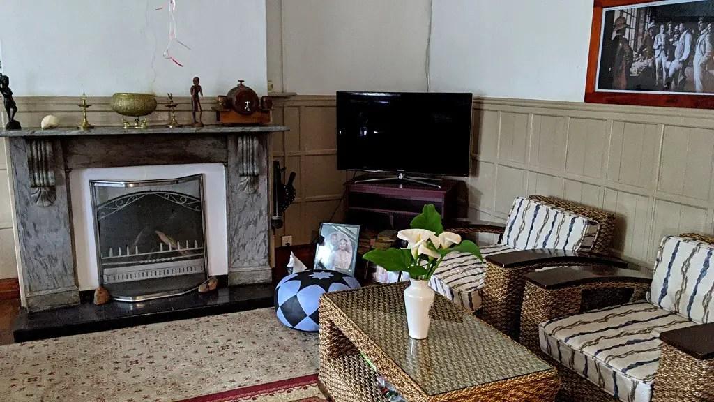 The Trevene Hotel: living room