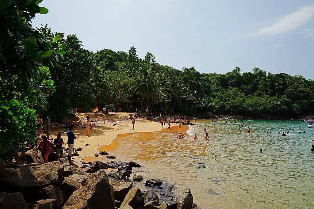 Jungle beach smaller part