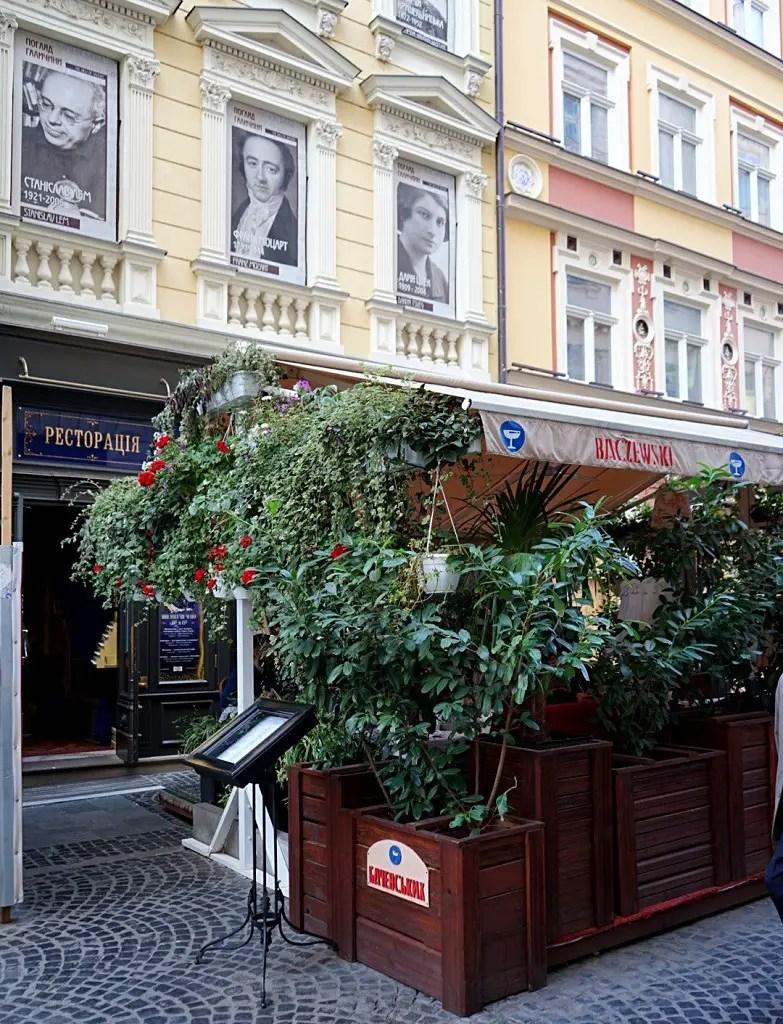 Themed Restaurants in Lviv: Baczewski in Lviv