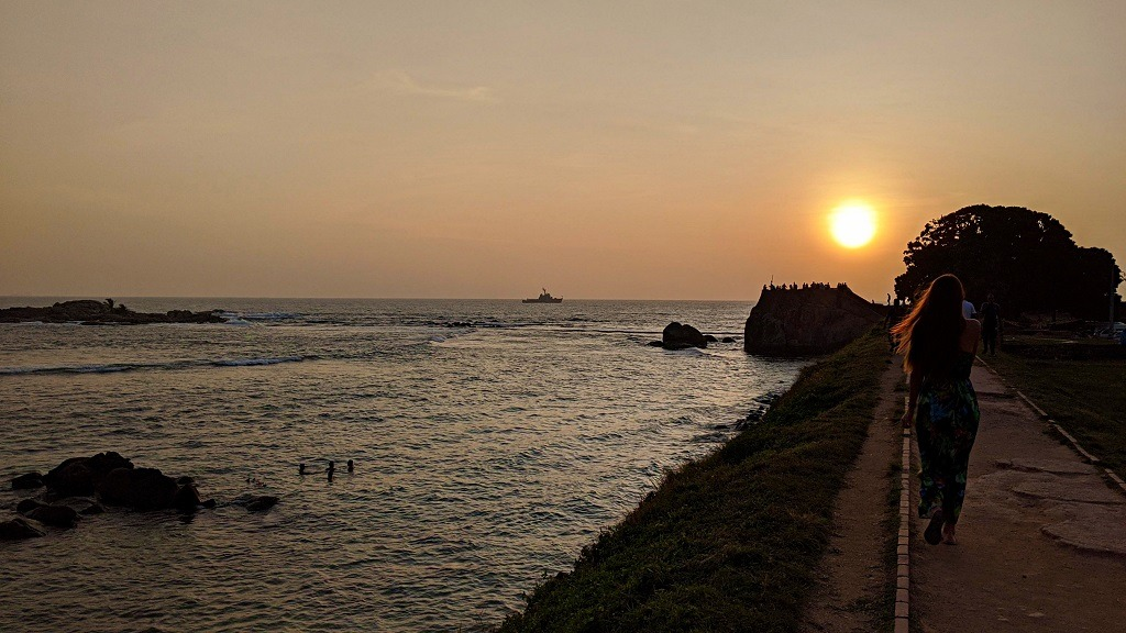Sunset at the Fort wall