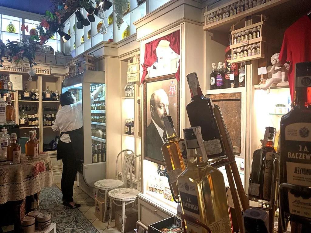Themed Restaurants in Lviv: Baczewski souvenir shop