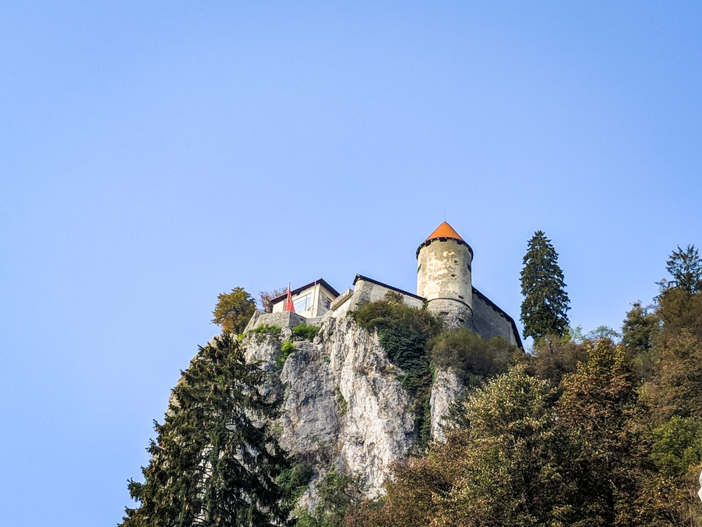 Visit the castle that is up on the hill