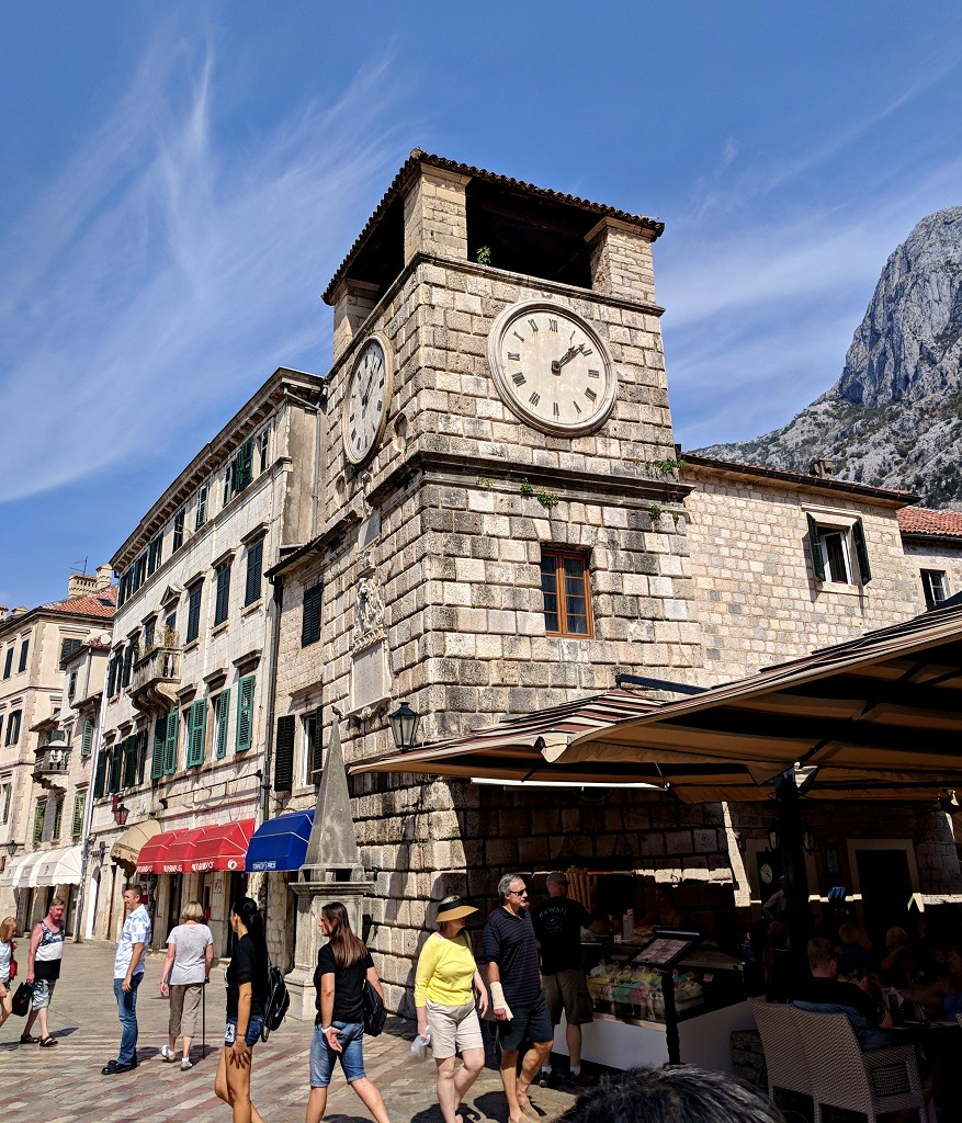 Day trip to Kotor: Clock Tower