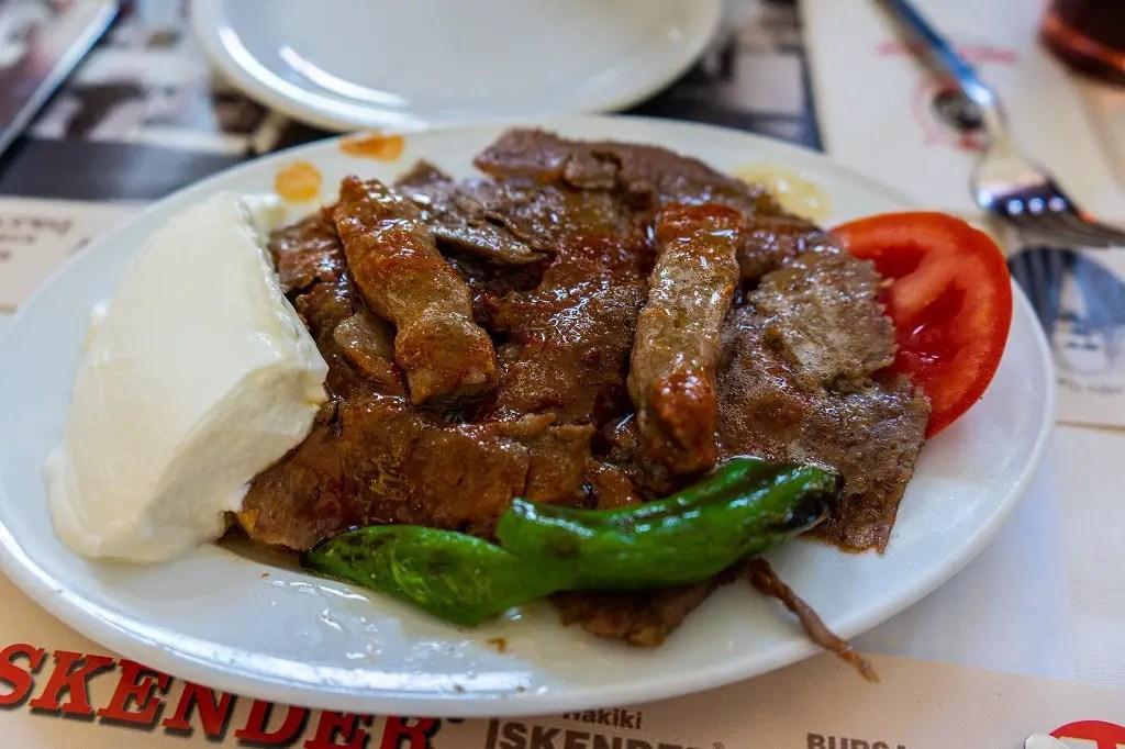Istanbul Food Tour: Iskender Kebab