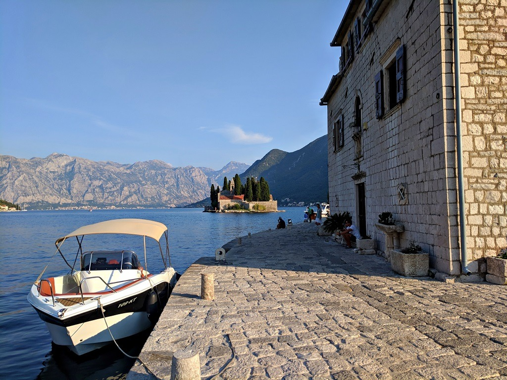 Day trip to Kotor: The view from Gospa od Skrjela