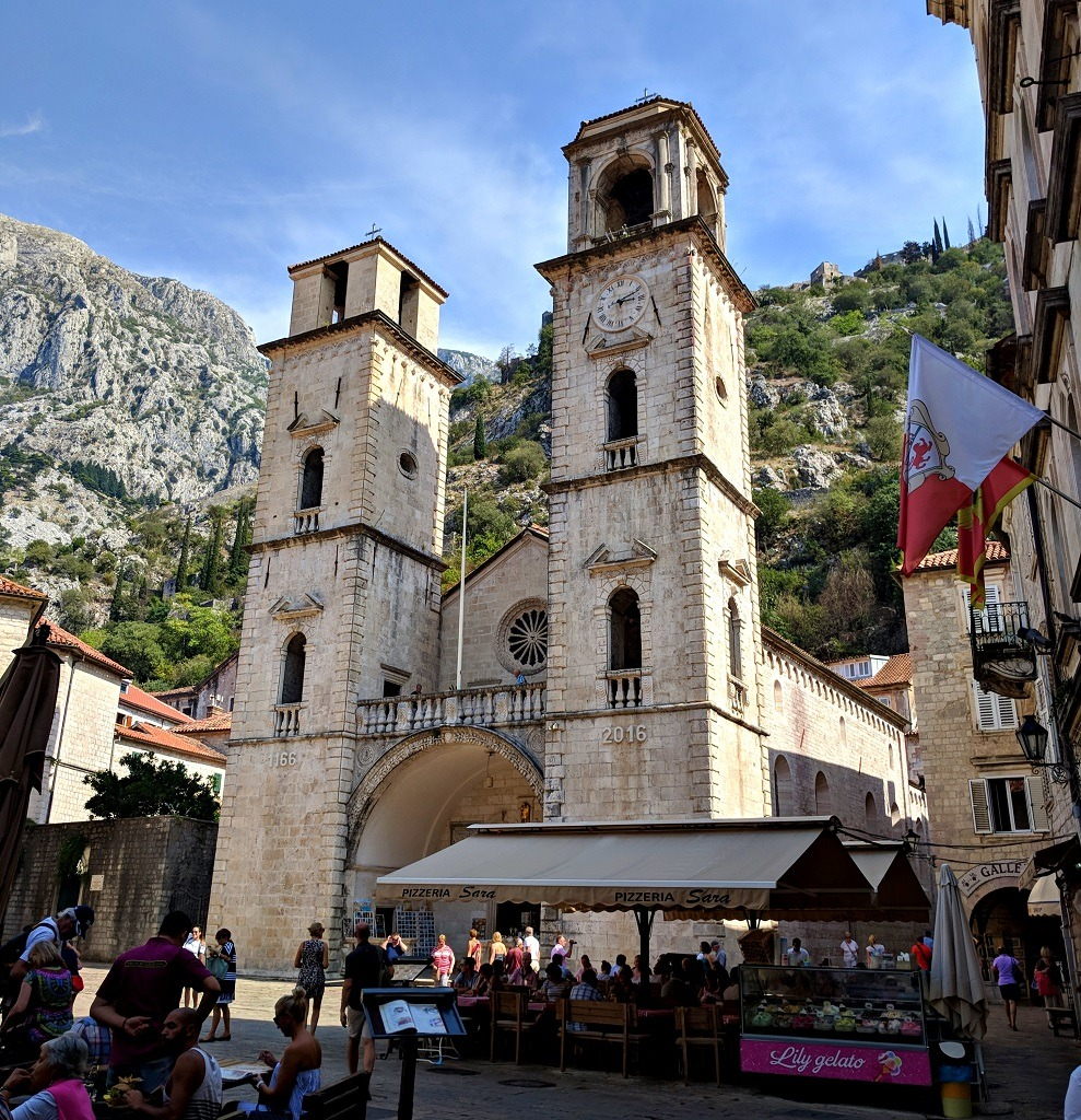 Day trip to Kotor: Cathedral