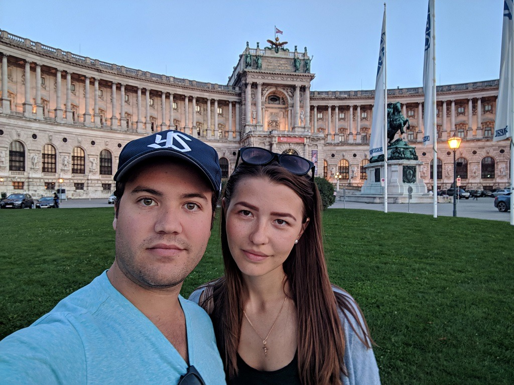 One Afternoon in Vienna: Austrian National Library