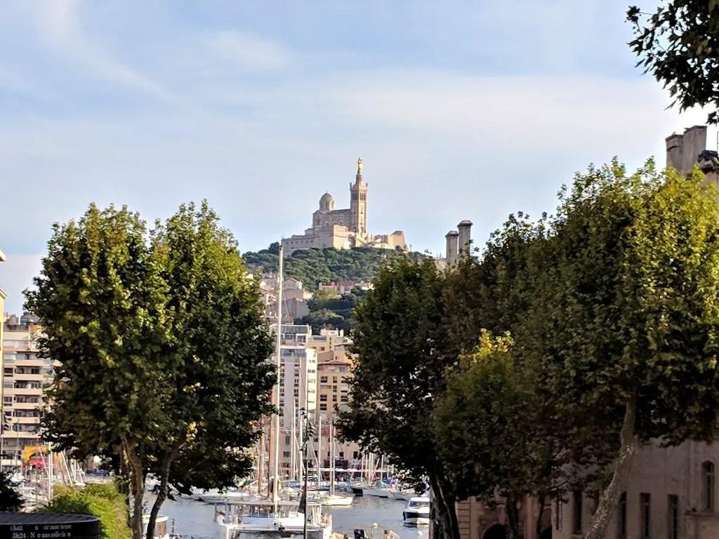 The Basilique Notre-Dame De La Garde