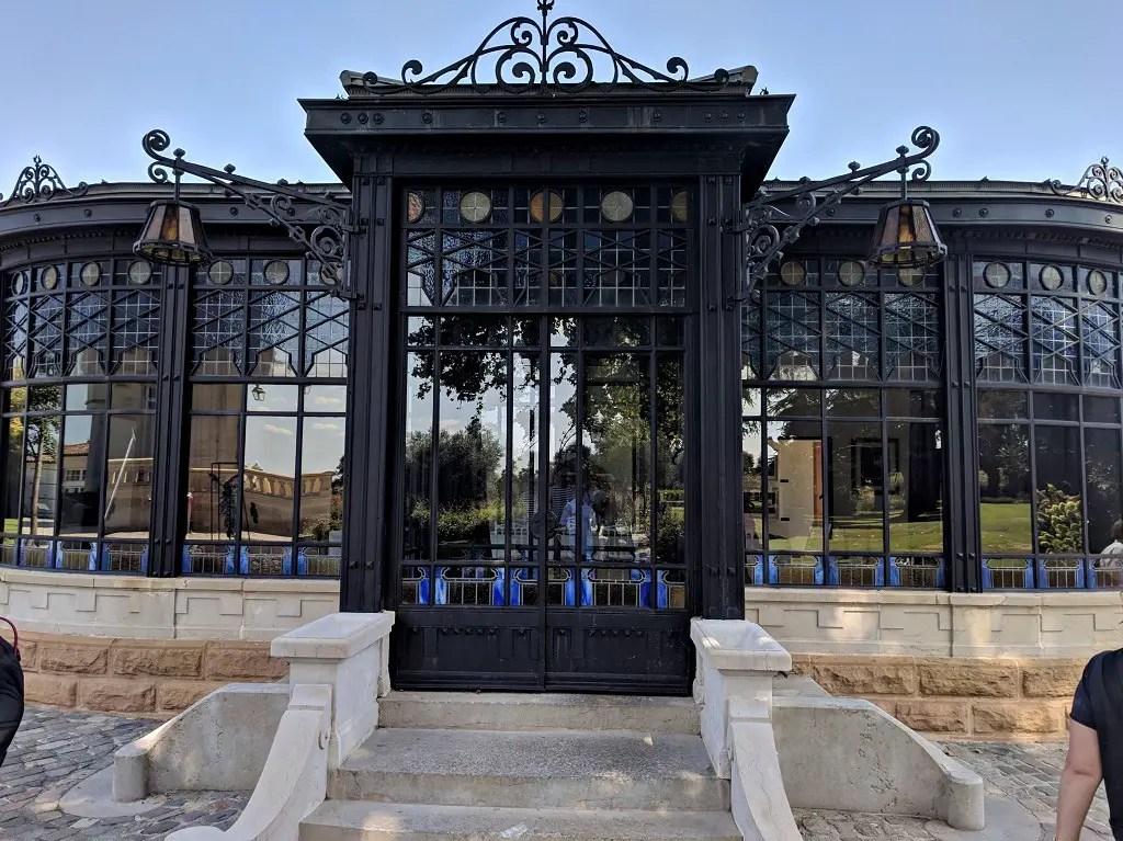 glass house Gustave Eiffel