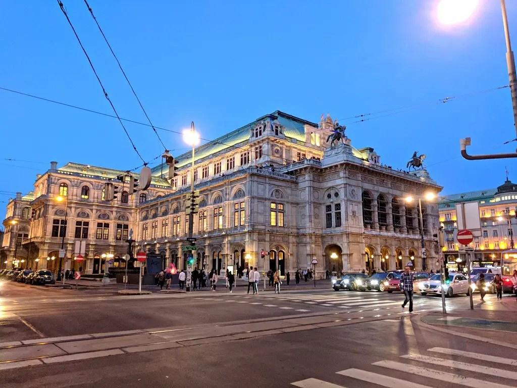 One Afternoon in Vienna: Vienna State Opera