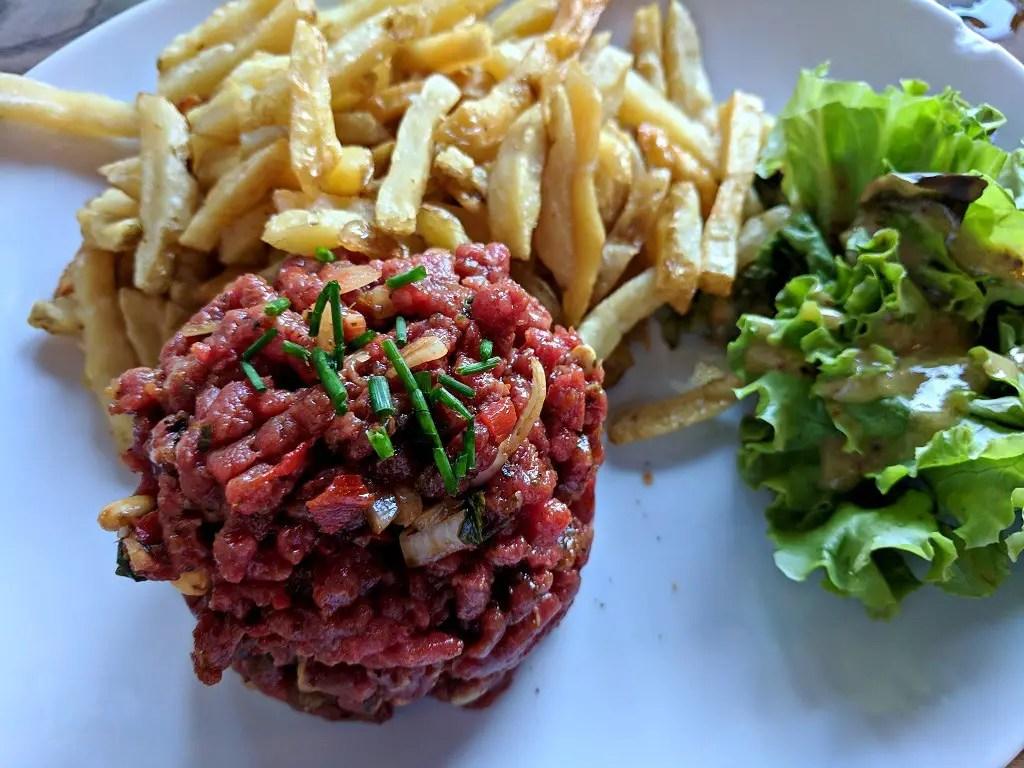 Beef Tartare (French Steak Tartare)