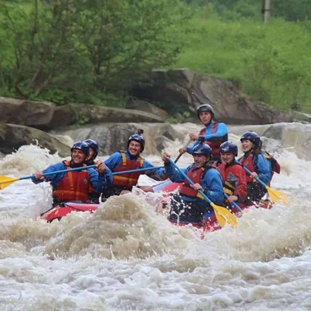 Rafting In The Carpathians