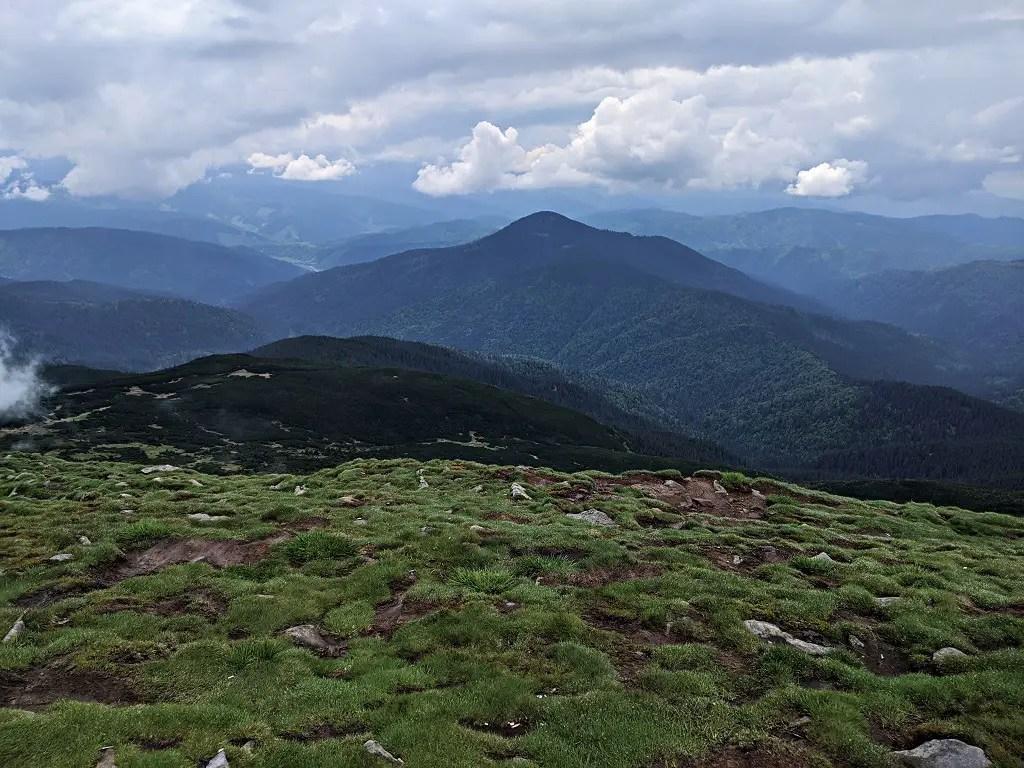 Peak of Hoverla