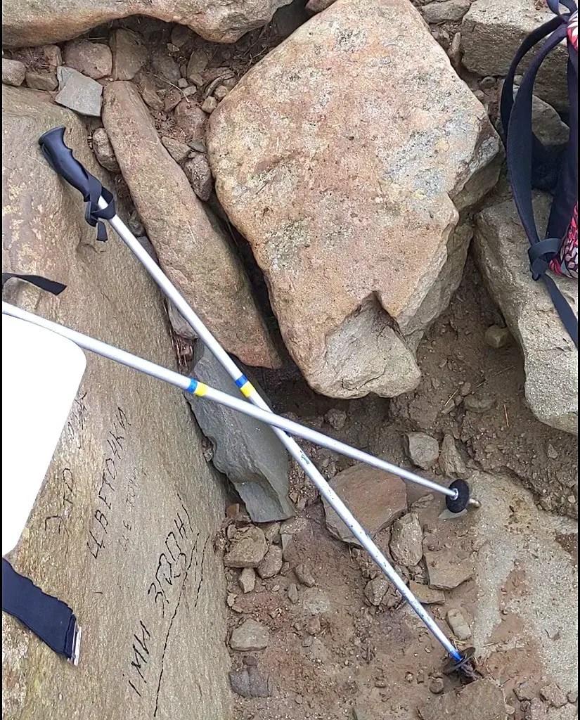 trekking sticks