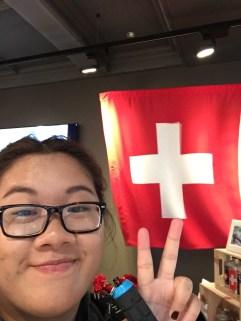 SWITZERLAND, POSE, TOURIST