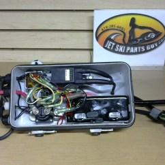 Sea Doo Jet Ski Parts Diagram Three Way Switch Wiring Diagrams Multiple Lights 1992 Seadoo Sp 587 Electrical Box Cdi Mpem Ecu Igniter