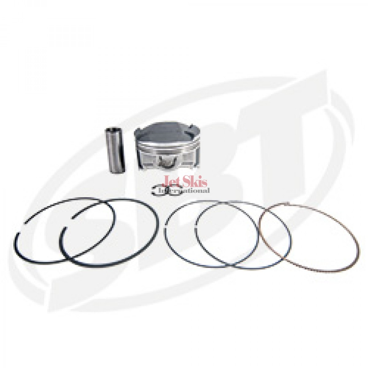 Kawasaki OEM# 13001-3736 Replacement Piston & Ring Set 12F