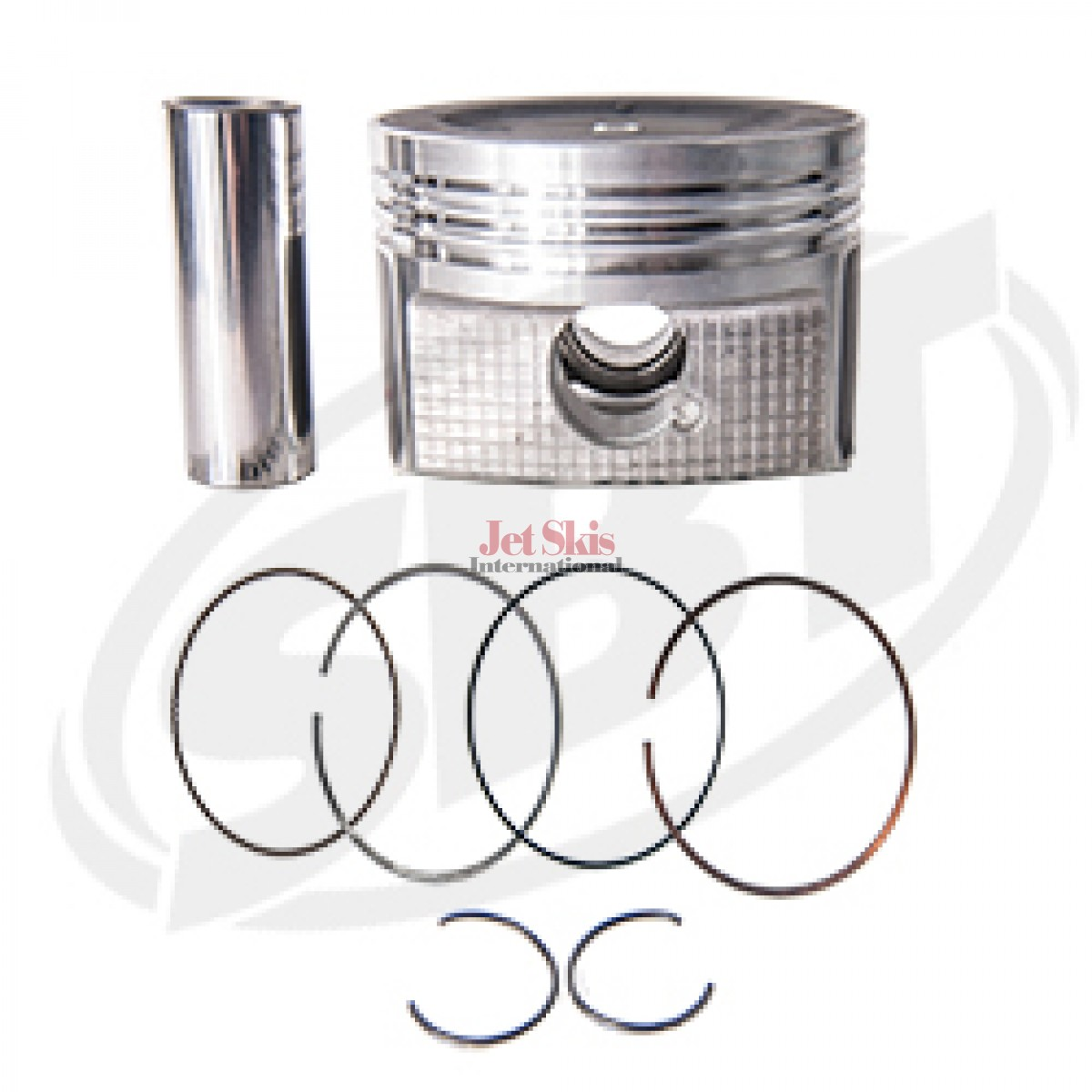 Yamaha OEM# 6BH-11631-00-B0 Replacement Piston & Ring Set 1.8L N /A FX Cruiser HO /FX HO /VXR