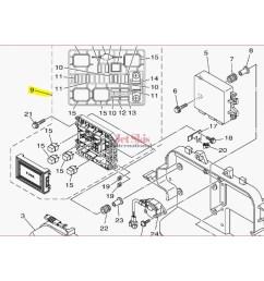 1997 seadoo wiring diagram yamaha 6ex 82170 01 00 fuse box assembly [ 1200 x 1200 Pixel ]