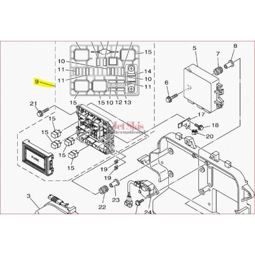 small resolution of  1997 seadoo wiring diagram yamaha 6ex 82170 01 00 fuse box assembly