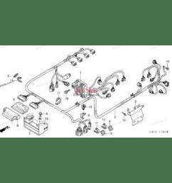honda 95 civic with 5462 honda ca175 wiring diagram honda aquatrax part 32101 hw3 670 engine harness [ 1200 x 1200 Pixel ]