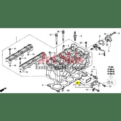 HONDA AQUATRAX PART # 93500-05035-4J SCREW, PAN (5X35