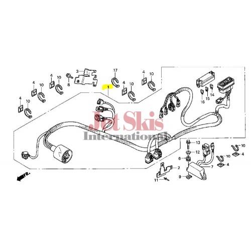 Honda Aquatrax Part# 32100-HW3-670 Main Wire Harness 2003