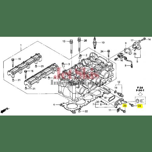 HONDA AQUATRAX PART# 95701-06028-02 BOLT, FLANGE (6X28
