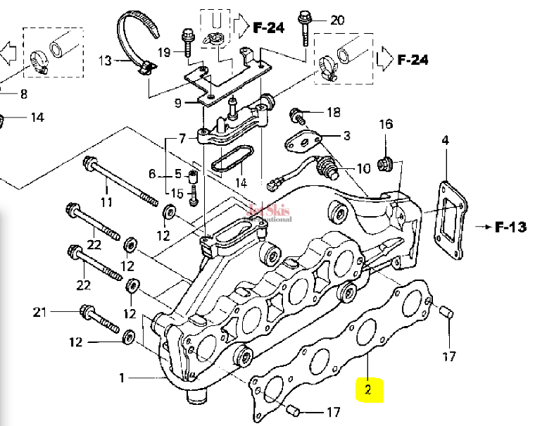 Honda Aquatrax Engine Ignition Diagram. Honda. Auto Parts
