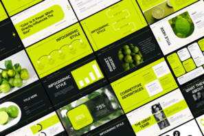 Lime Presentation Template