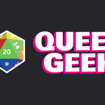 Queer Geek Logotype and Branding