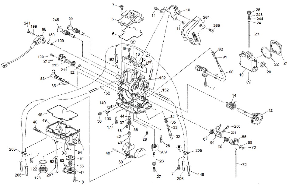 2000 honda xr650r wiring diagram radio 2007 f150 fcr mx exploded view free shipping orders over 99 all others 7 flat rate