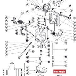 Jet Pump Diagram 13 Pin Towing Electrics Wiring Mikuni Hsr42 Hsr 45 Old Style Carb Exploded View