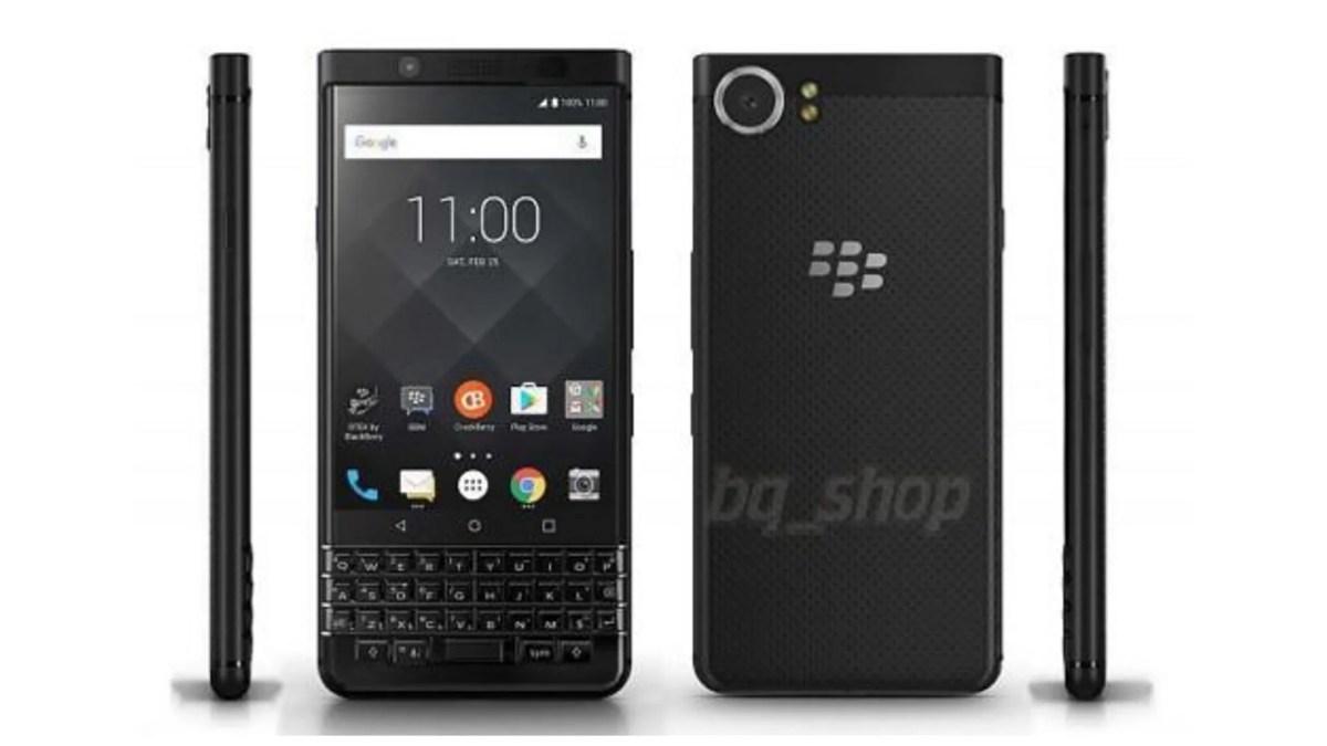 オールブラックな「BlackBerry KEYone」は実際に存在?