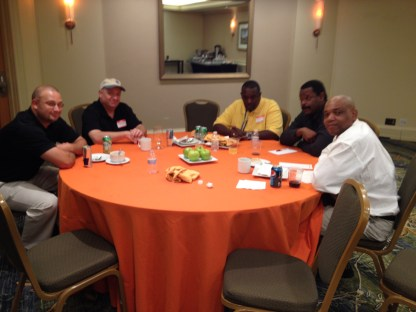 L to R: Randy Koenig, Howard Crabtree, Eugene Love, Gil Young