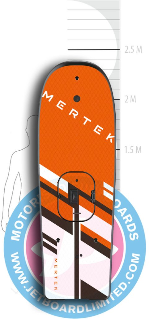 Jet Surf Canary - Mertek 2018 Board