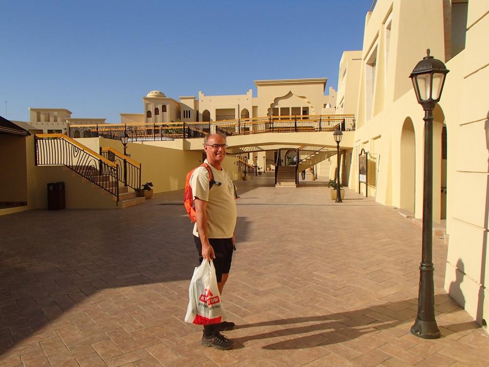 Mycket trevligt hotell trots att det var enormt stort.