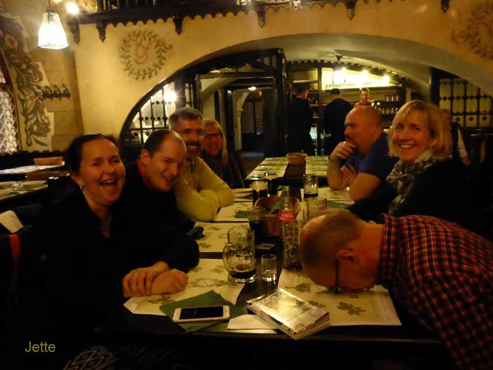Birger var lite trött.. men inte de andra tror jag!