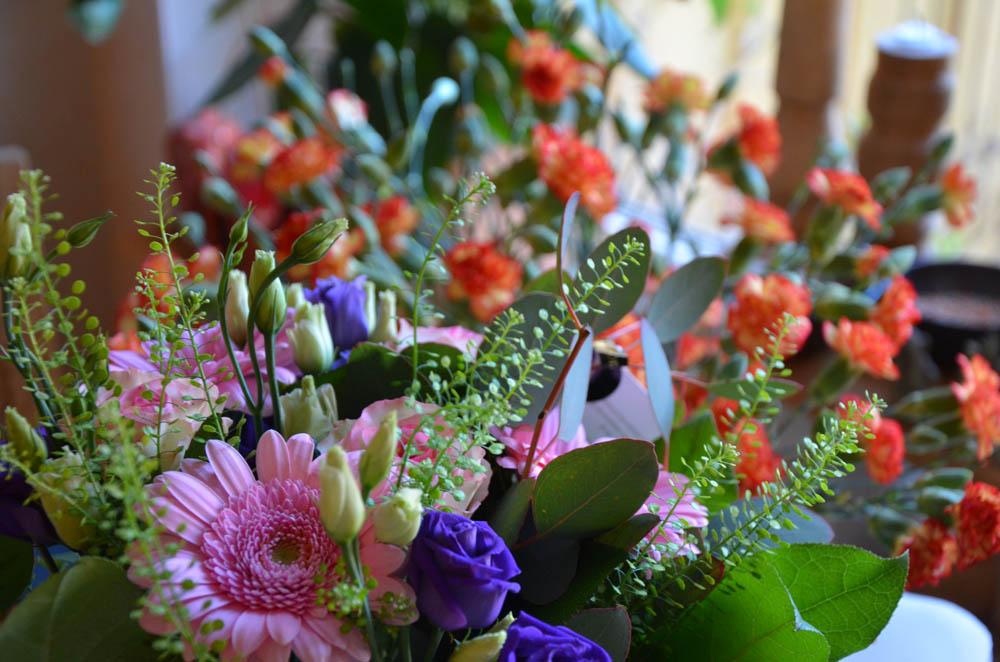 Så vackra blommor! !