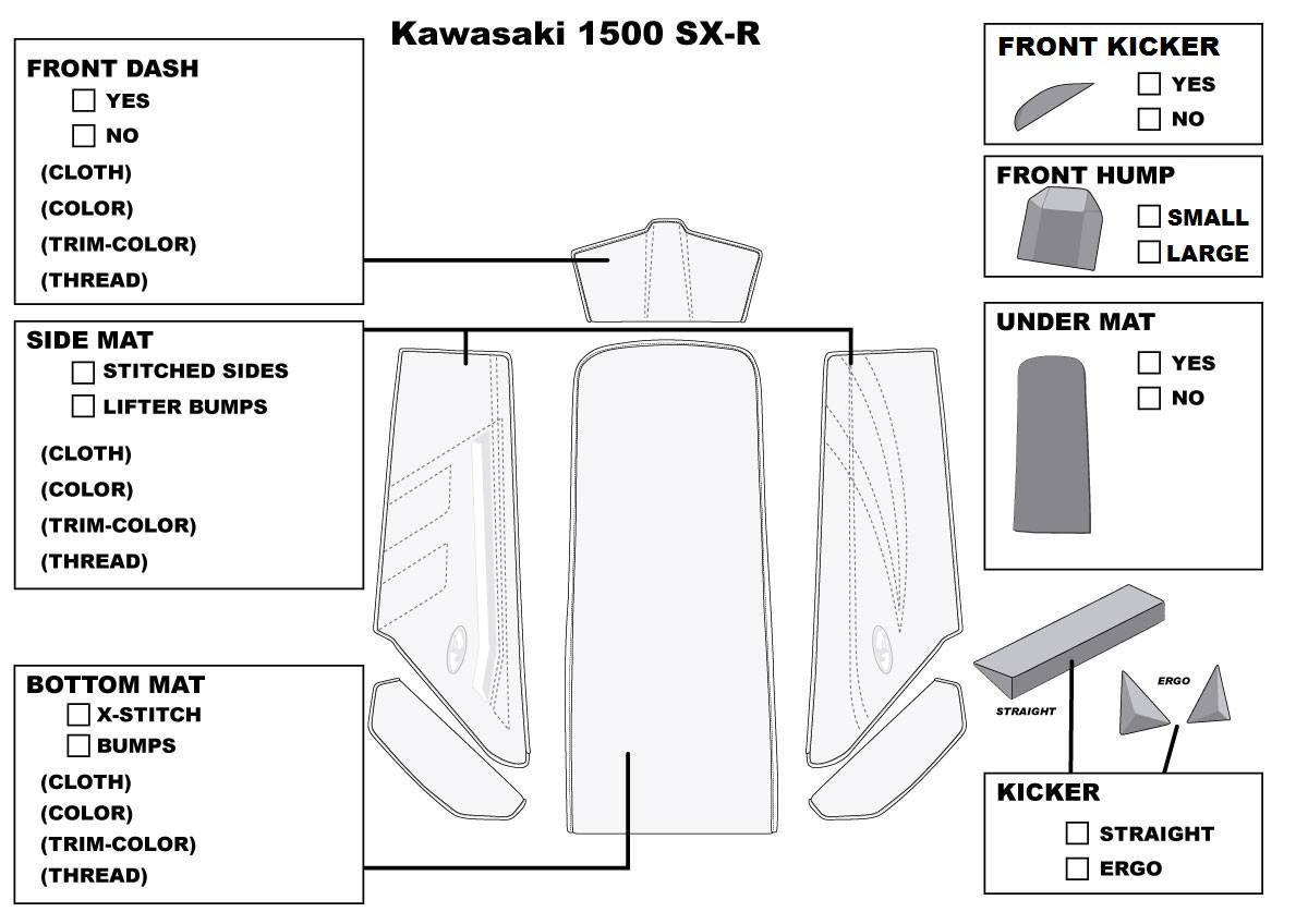 2017 SXR1500 Mat Kit