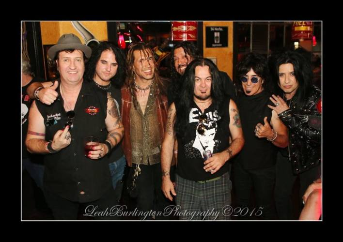 Les Warner, Scot Coogan, Jason Ebs, Oz Fox, Jeff Duncan, Frank DiMino and Marquee Martinez