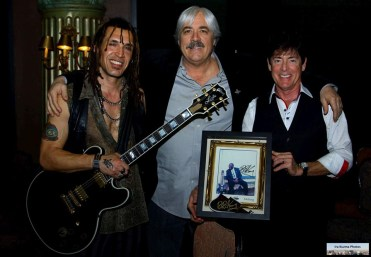 Steve Hart, and Ben Perry with Lucille
