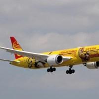 Hainan Airlines B-7302 Boeing 787-9 Dreamliner Kung Fu Panda cs #yyz