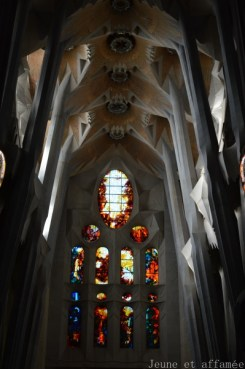 Sagrada familia, vitraux