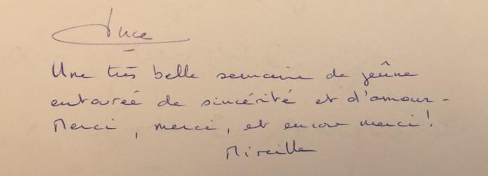 Commentaire de Mireille